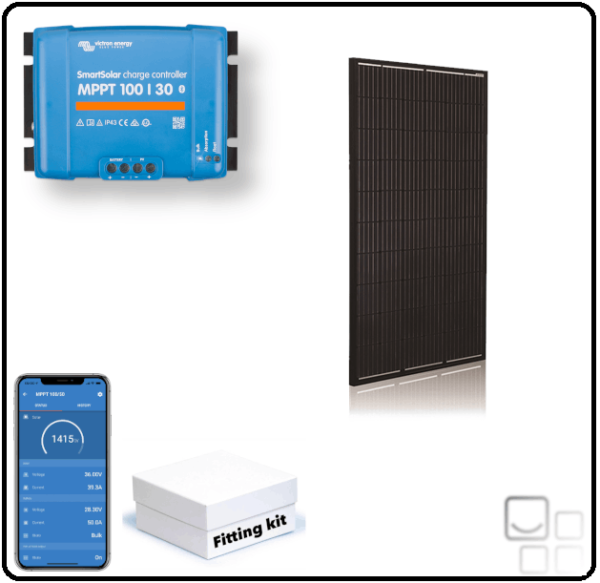 320W Rigid Single Panel System