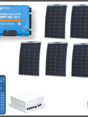 600W Semi-Flexible 5 Panel System